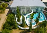 Van der Valk Resort Linstow, Erlebnisbad Außenbereich