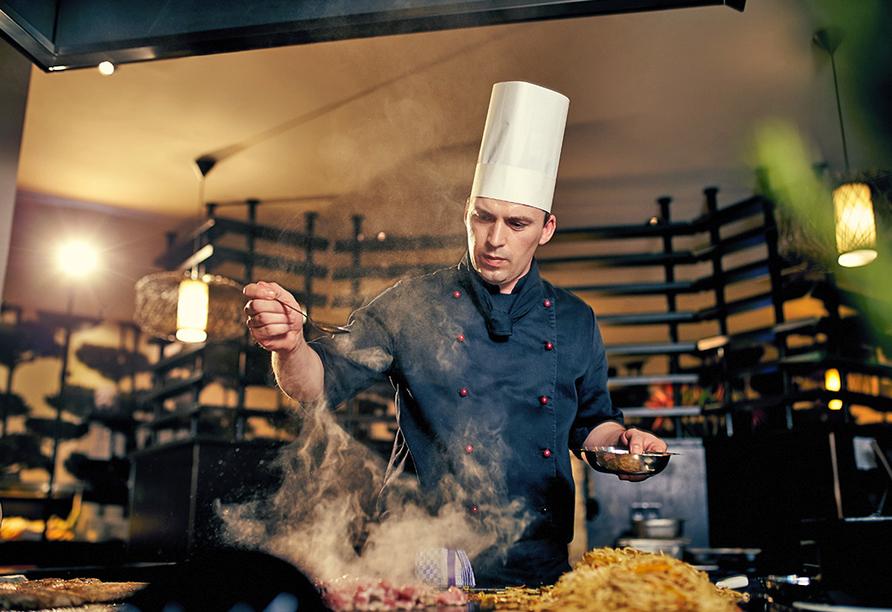 Van der Valk Resort Linstow, Koch im Restaurant