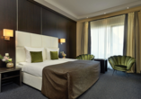 Van der Valk Resort Linstow, Beispiel Schlafzimmer Ferienhaus