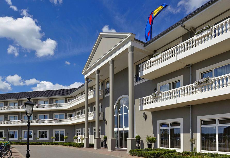 Van der Valk Resort Linstow, Hauptgebäude Außenansicht