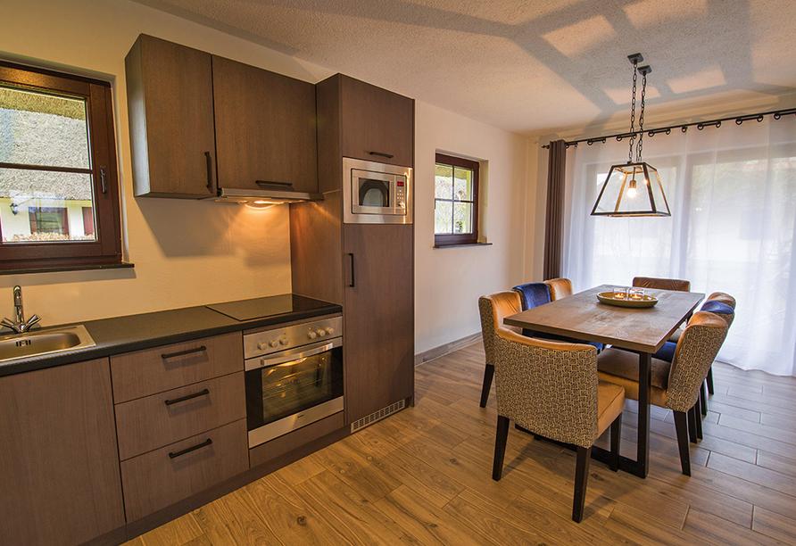 Van der Valk Resort Linstow, Beispiel Küche Ferienhaus Typ C