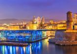 Rundreise Provence, Der Alte Hafen von Marseille