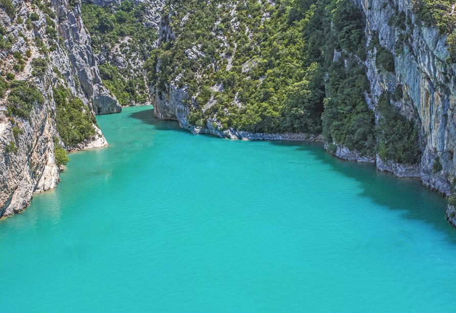 Rundreise Provence, Lac de Sainte-Croix