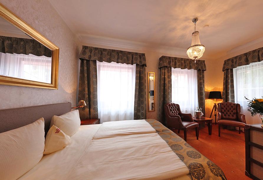 The Lakeside Burghotel zu Strausberg, Beispiel Doppelzimmer Premium