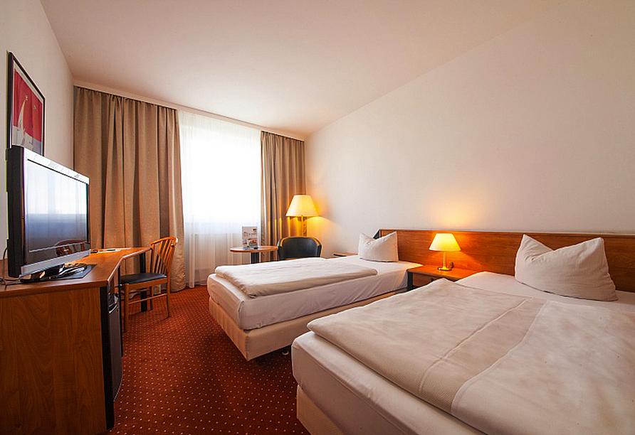 NOVINA HOTEL Südwestpark in Nürnberg, Beispiel Doppelzimmer
