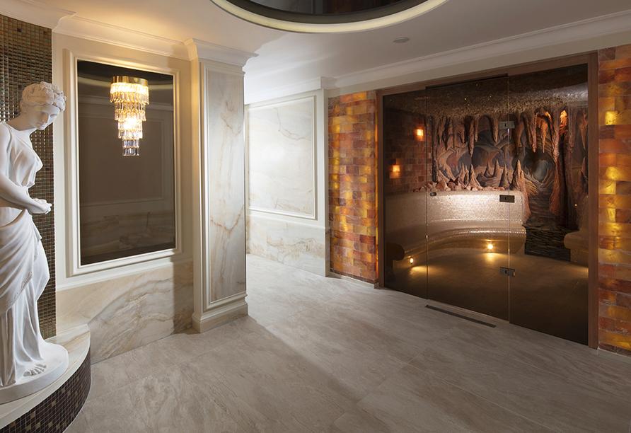 Chateau Monty SPA Resort in Marienbad in Tschechien, Saunabereich