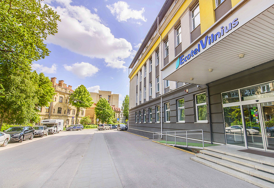 Erlebnisreise-Litauen-Lettland-Estland, Beispielhotel Ecotel Vilnius