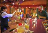 Sporthotel zum Hohen Eimberg in Willingen, Bar