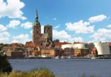 Landhotel Zum Kranich, Stadtansicht Stralsund