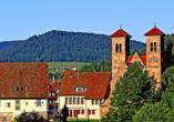Besuchen Sie das romantische Kloster Reichenbach in Baiersbronn.