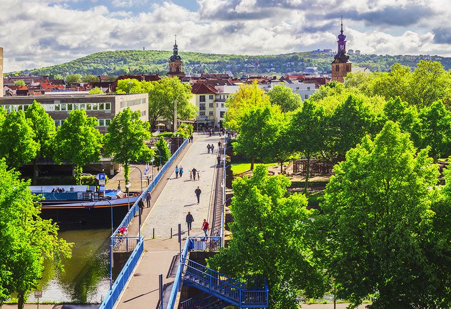 Statten Sie der Landeshauptstadt des Saarlandes, Saarbrücken, einen Besuch ab.
