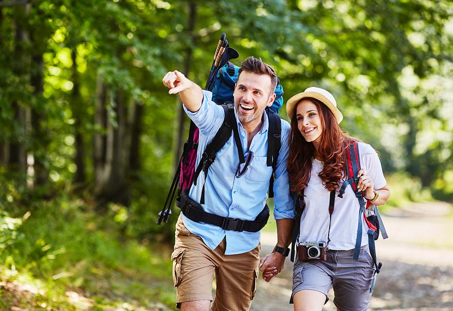 Die Region um den Bostalsee bietet sich hervorragend für eine Wanderung und Radtour an.