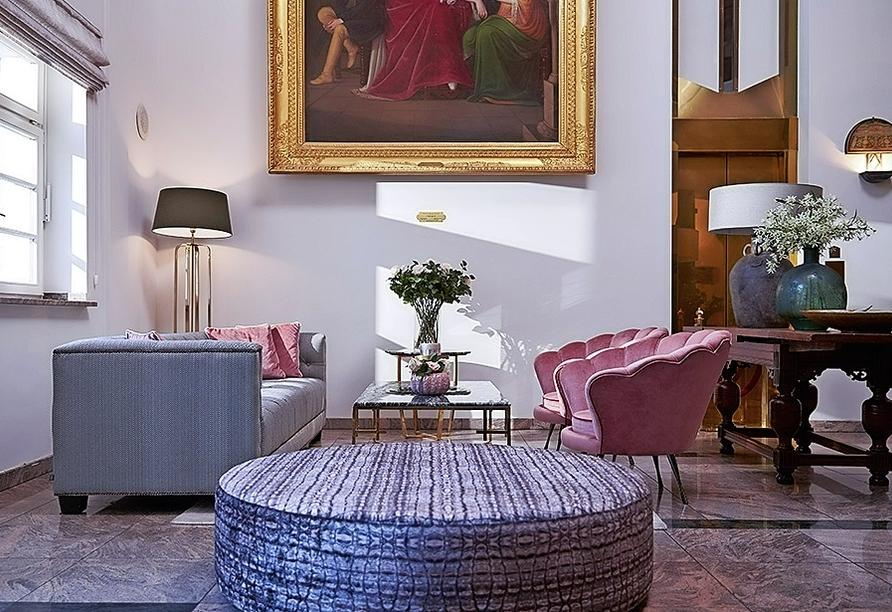 Van der Valk Schlosshotel Ballenstedt, Lounge