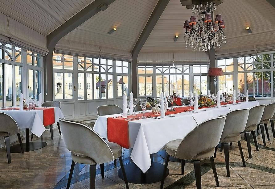 Van der Valk Schlosshotel Ballenstedt, Restaurant