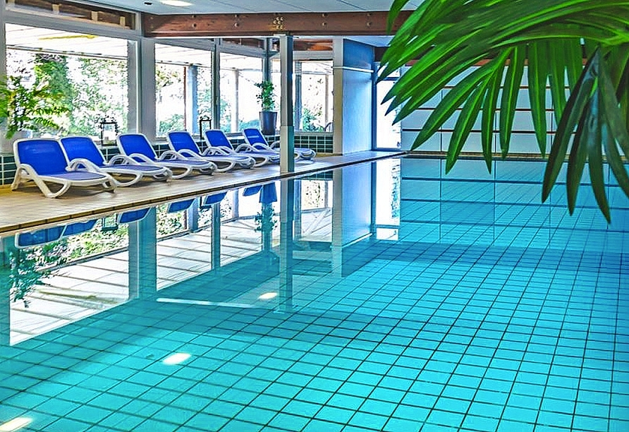 Hotel Sonnenhof und Sonnhalde in Ühlingen-Birkendorf im Schwarzwald, Hallenbad