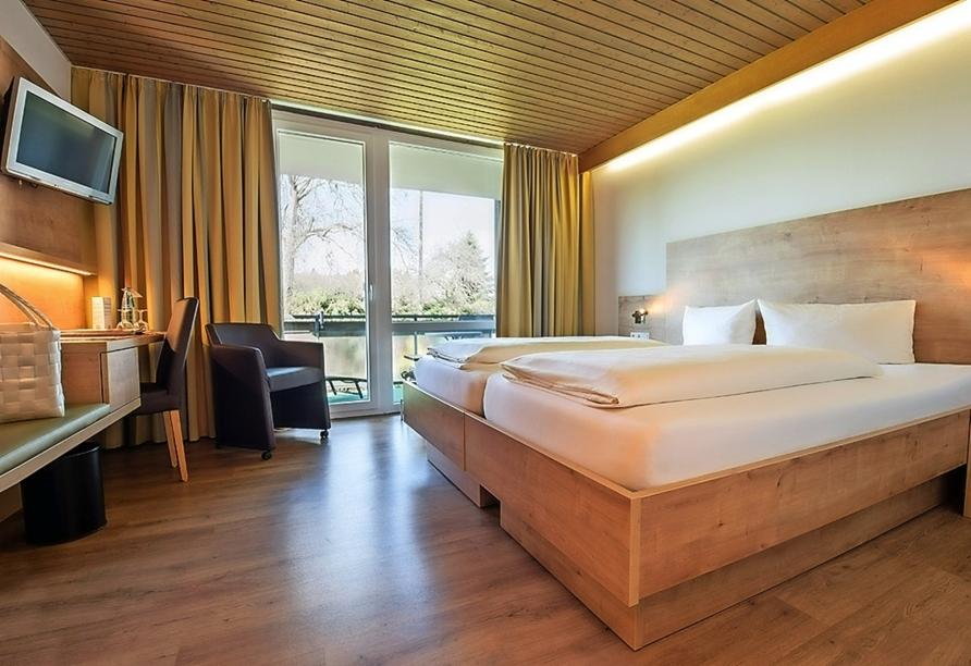 Hotel Sonnenhof und Sonnhalde in Ühlingen-Birkendorf im Schwarzwald, Zimmerbeispiel Doppelzimmer Komfort Sonnenhalde