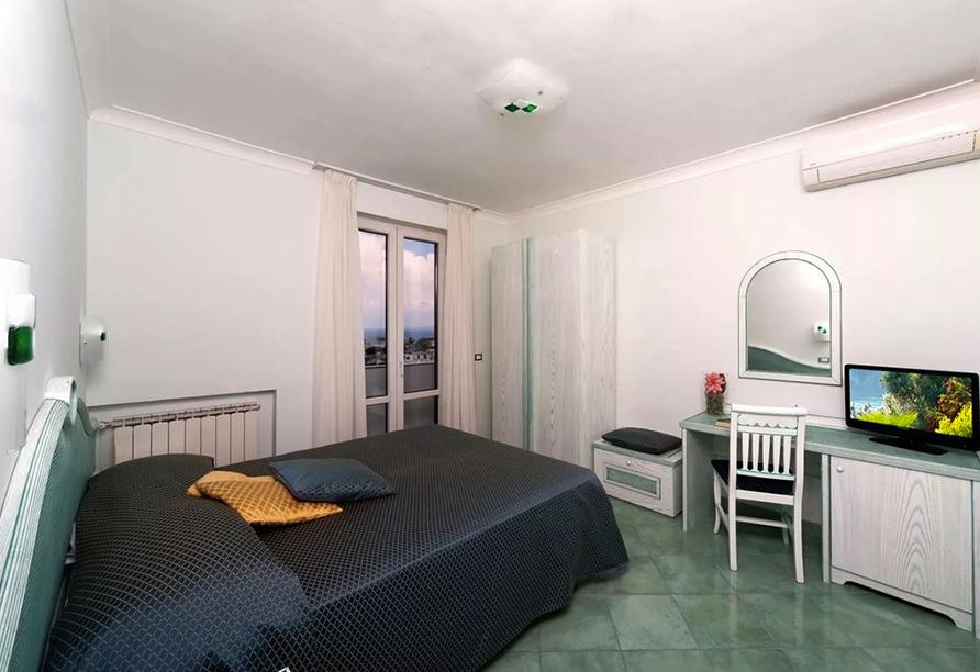 Beispiel eines Doppelzimmers im Hotel Bellevue