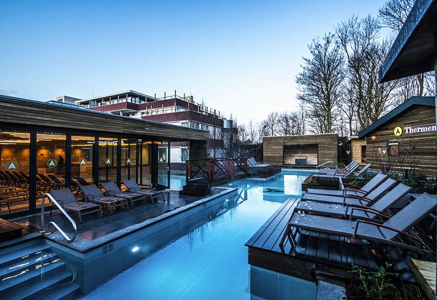 Hotel Amadore Kamperduinen in Kamperland, Niederlande, Außebereich