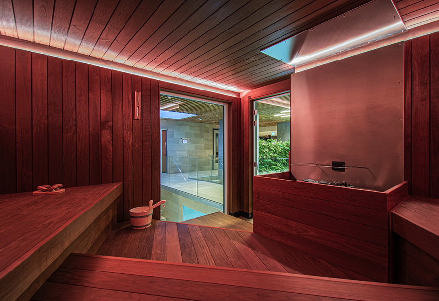 Hotel Amadore Kamperduinen in Kamperland, Niederlande, Sauna