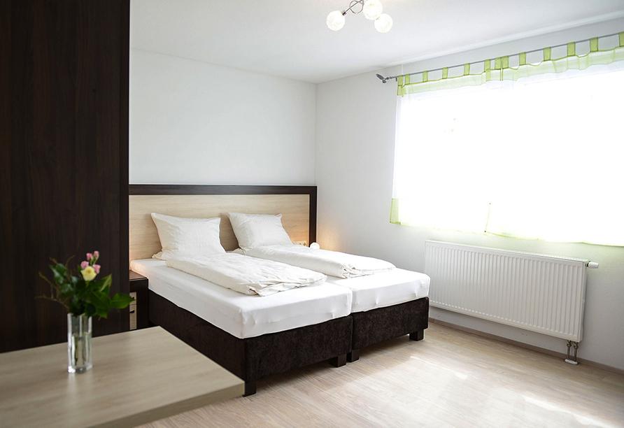 Beispiel eines Doppelzimmers im Naturparkhotel & Landgasthof Stromberg