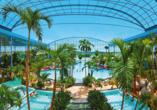 Unweit des Naturparkhotel & Landgasthof Stromberg befindet sich die Thermen & Badewelt Sinheim, die entspannte Stunden verspricht.