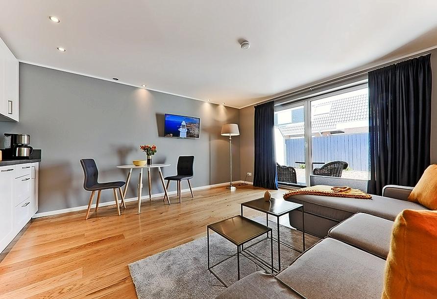 Astra Maris Hotel & Apartments Büsum, Beispiel Appartement