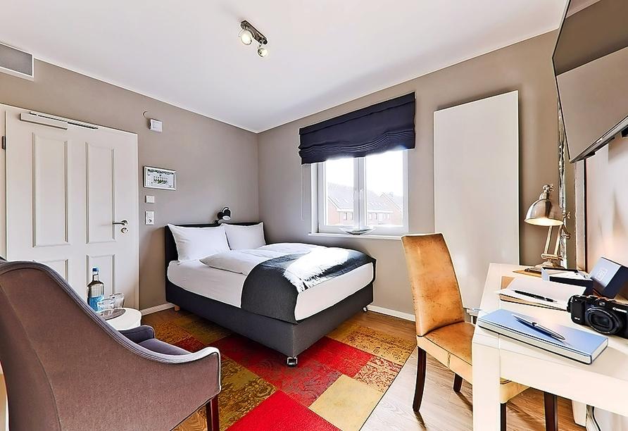 Astra Maris Hotel & Apartments Büsum, Beispiel Doppelzimmer Klein