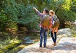 Erkunden Sie die abwechslungsreiche Natur des Naturparks Bayerische Rhön bei einer Wanderung oder einer Radtour.