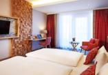 Beispiel eines Superiorzimmers im Parkflügel im Dorint Resort & Spa Bad Brückenau