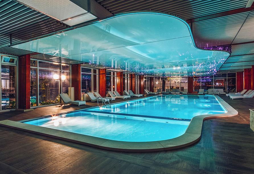 Hallenbad im Hotel Iberostar Bijela Delfin