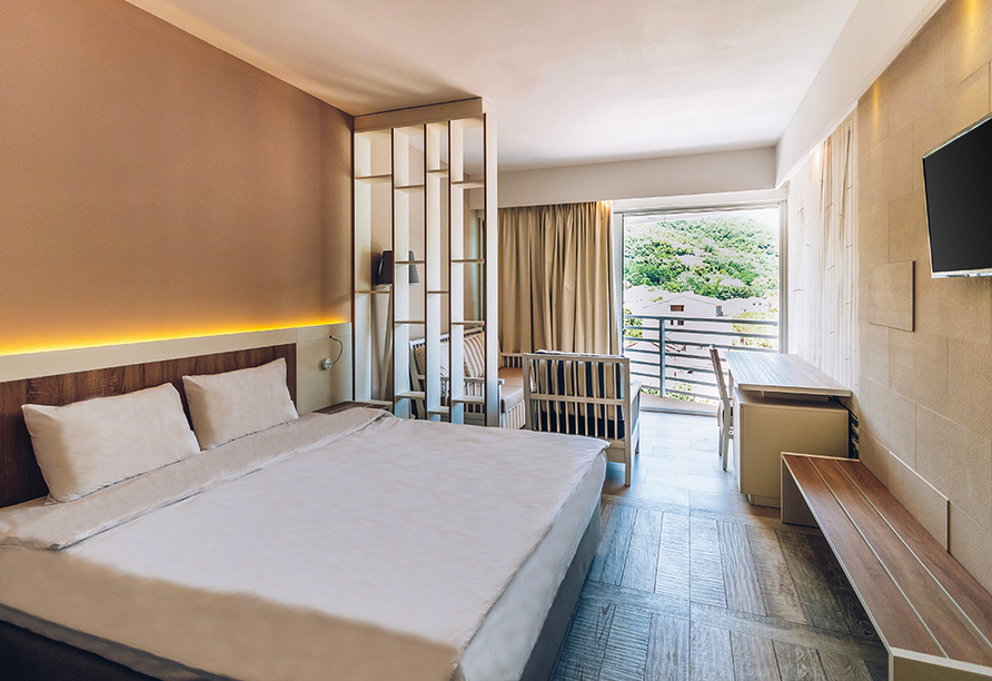 Beispiel eines Doppelzimmers vom Hotel Iberostar Bijela Delfin