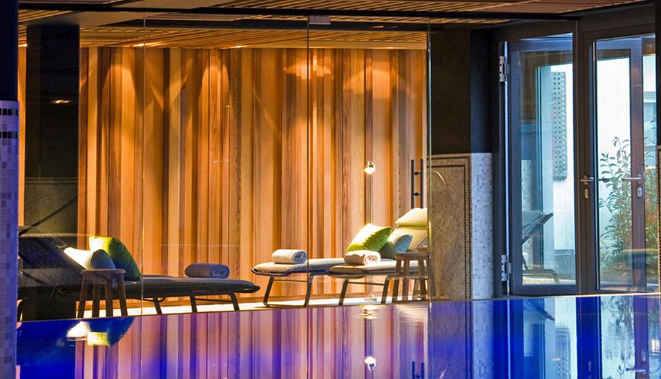 Der Wellnessbereich des Hotel-Restaurants Erbprinz in Ettlingen bietet Erholung pur!