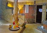 Wellnessbereich im Seebauer Hotel die Ente von Wassertrüdingen