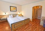 Beispiel eines Doppelzimmers Komfort im Seebauer Hotel die Ente von Wassertrüdingen