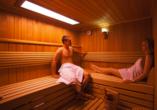 Hotel Trofana, Misdroy, Polnische Ostsee, Sauna