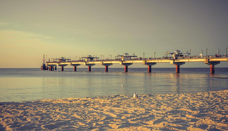Wellness & SPA Residenz Bielik in Misdroy an der polnischen Ostsee Seebrücke