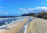 Hotel Trofana, Misdroy, Polnische Ostsee, Strand