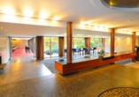 Lobby vom Schlosshotel Monrepos