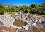 Rundreise durch Albanien, Amphitheater in Butrint