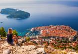 Entdecken Sie die schönsten Ecken Kroatiens, darunter die traumhafte Hafenstadt Dubrovnik