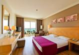 Beispiel eines Doppelzimmers im Hotel Sealife Buket Resort & Spa in Alanya/Antalya