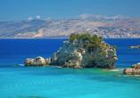 Rundreise durch Albanien, Ksamil