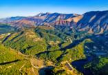 Rundreise durch Albanien, Berge