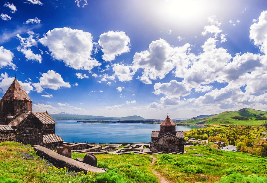 Freuen Sie sich auf einen Besuch des Klosterkomplexes Sewanawank.