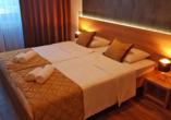 Beispiel für ein Doppelzimmer im Beispielhotel Hotel Novi Sad.