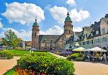Im Zentrum Freudenstadts, direkt am Marktplatz, steht die hübsche Stadtkirche.