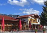 Hotel Bayerischer Hof Inzell im Chiemgau, Außenansicht