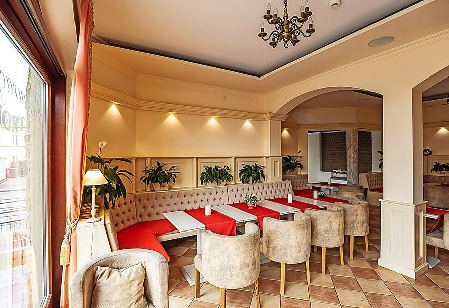 Hotel Trofana Wellness & Spa in Misdroy, Polnische Ostsee, Restaurant