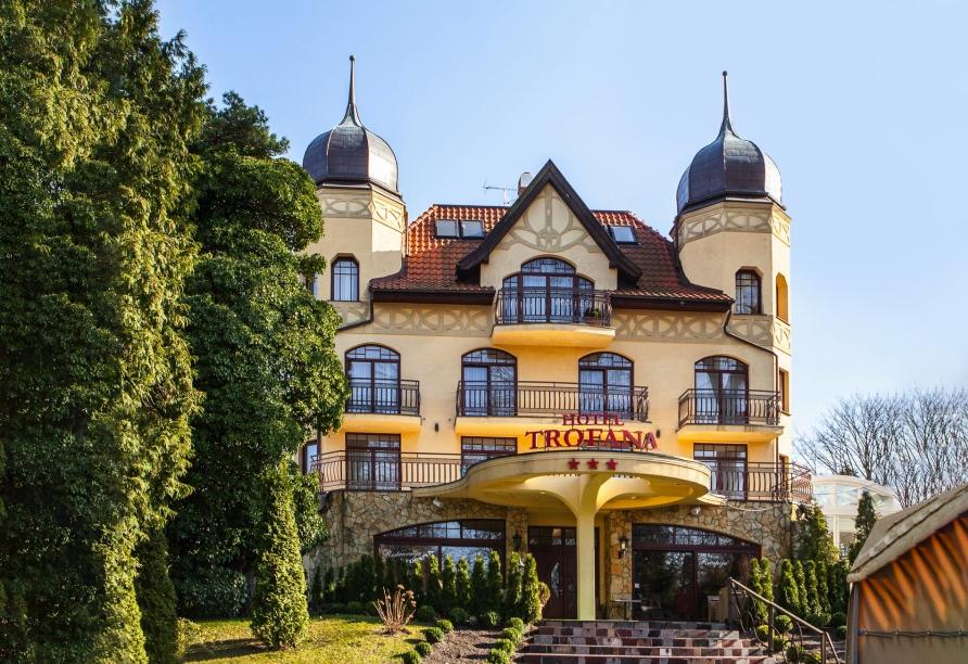 Herzlich willkommen im gemütlichen Hotel Trofana Wellness & Spa.