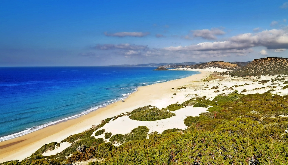 Der Golden Beach auf Nordzypern ist einfach nur traumhaft.